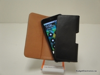 Large leather case for Samsung Galaxy